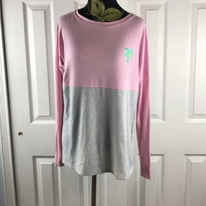Lilly Pulitzer Finn long sleeve tee size small